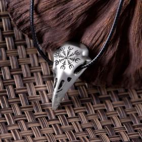 Амулет Череп ворона – Символ защиты от врагов