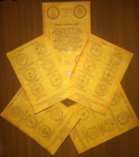 Комплект Сигил – магия вашего успеха – 5 свитков