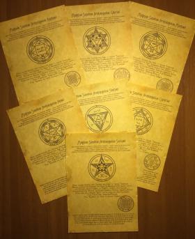 Комплект Древних Свитков 7 Архангелов – помощь Небесных сил