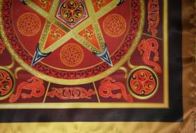 Магическая скатерть Викка Огненная Звезда – Волшебная Сила Огня малая
