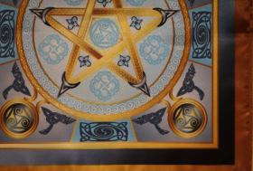 Магическая скатерть Викка Воздушная Звезда – Волшебная Сила Воздуха средняя