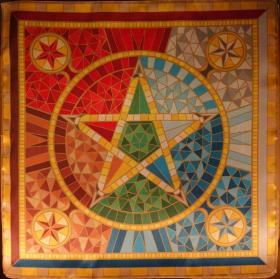 Коллекция Ведьмы Звезды Викка – Звезда Викка Каменная мозаика