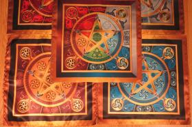 Комплект Магические скатерти Викка - Викканские звезды Средняя