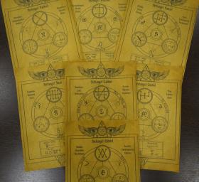 Комплект Свитков 7 Главных Архангелов