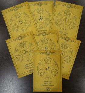 Комплект Свитков 7 Планетных Сил