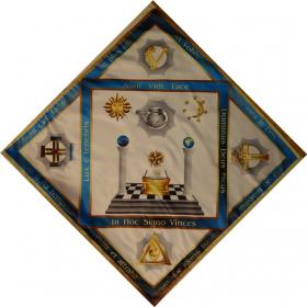 Скатерть Алтарная масонская №2 градусы 8,9,10,11,12