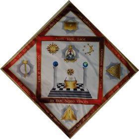 Скатерть Алтарная масонская №3 градусы 13,14,15,16,17
