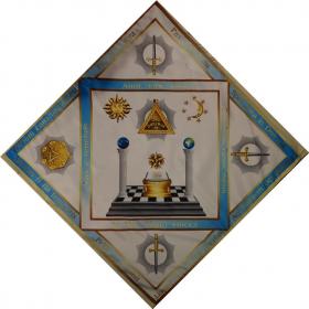 Скатерть Алтарная масонская №5 градусы 23,24,25,26,27