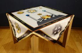 Скатерть Алтарная масонская №5 градусы 28,29,30,31,32
