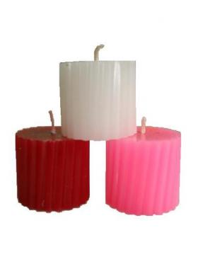 Клеопатра набор из 3 свечей