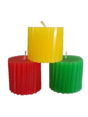 Река любви набор из 3 свечей