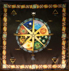 Скатерть Ритуально-декоративная Колесо Года-1 малая