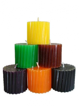 Богатый путь набор из 6 свечей