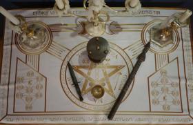 Алтарть Церемониальной Магии Белая версия