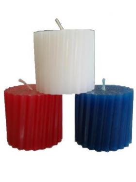 Мощная защита набор из 3 свечей