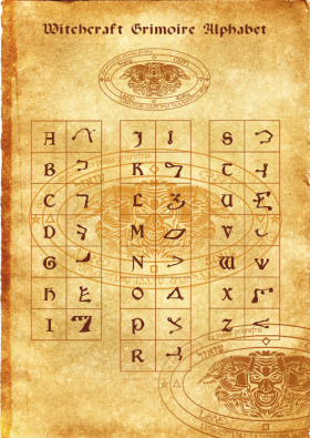 Алфавит некромагов