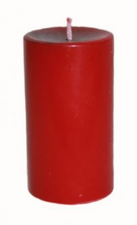 Свеча Обрядово-алтарная Красная