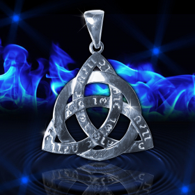 Амулет Кельтский узел  Трикверт Могущество Древних Сил