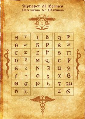 Герметический алфавит