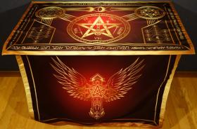 Алтарь Церемониальной Магии Красный