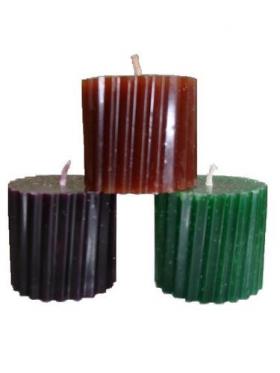 Привлечение денег набор из 3 свечей