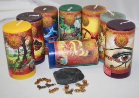 Успех и процветание набор свечей RW