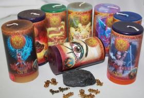 Магические практики набор свечей RW