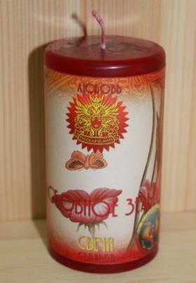 Свеча Любовное зелье (Love potion)