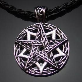 Талисман Плетеная пентаграмма