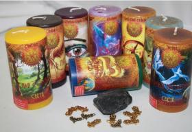 Удача и благополучие набор свечей RW