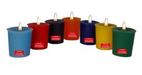 Чакровый набор свечей Колесо жизни (Chakra set)