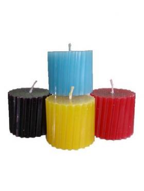 Избавление (от стресса, вредных привычек, похудение) набор из 4 свечей