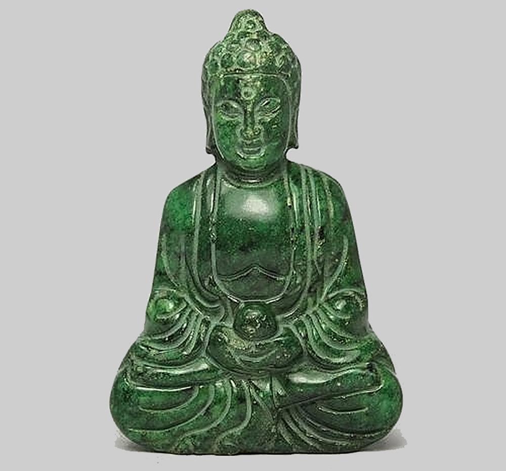 Будда из нефрита фото