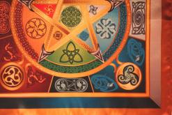Магическая скатерть Викка Сила 5 Стихий – Волшебная сила Викканской магии малая