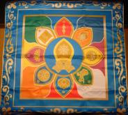 Скатерть Цветок Будды
