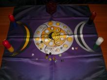 Алтарная Скатерть Лунная магия