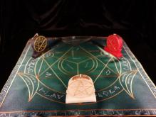 Языческий Ритуал Магии Викка Мистический Трикветр  Помощь в колдовстве  R-001