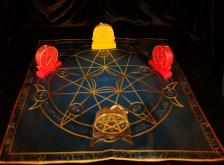 Языческий Ритуал Магии Викка Мистический Трикветр  Очистка денежных каналов. R-003