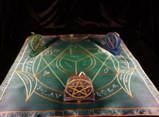 Языческий Ритуал Магии Викка Мистический Трикветр  Устранение сплетен  R-004