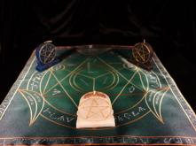 Языческий Ритуал Магии Викка Мистический Трикветр  Торжество интеллекта  R-005