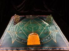 Языческий Ритуал Магии Викка Мистический Трикветр  Повышение сексуального интереса  R-006