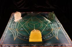 Языческий Ритуал Магии Викка Мистический Трикветр Повышение доходов R-007