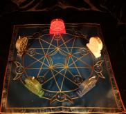 Языческий Ритуал Магии Викка Волшебство Пентаграммы Нет магии! R-017