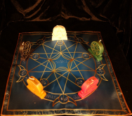 Языческий Ритуал Магии Викка Волшебство Пентаграммы Чистота отношений R-018
