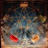 Языческий Ритуал Магии Викка Волшебство Пентаграммы Новая жизнь R-020