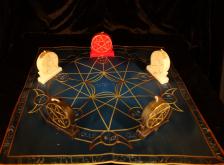 Языческий Ритуал Магии Викка Волшебство Пентаграммы Генеральная уборка R-023