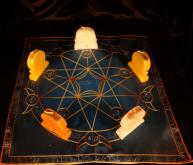 Языческий Ритуал Магии Викка Волшебство Пентаграммы Цель превыше всего! R-024