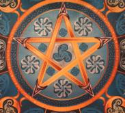 Магическая скатерть Викка Водная Звезда – Волшебная Сила Воды малая