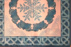 Серия скатертей Древние кельты Времена года. Зима – стабильность