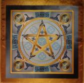Магическая скатерть Викка Воздушная Звезда – Волшебная Сила Воздуха малая